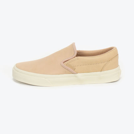 VANS CLASSIC SLIP-ON DX NATURAL LEATHER バンズ スリッポン