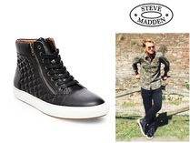 日本未入荷! STEVE MADDEN Men's Sneakers QUILTED