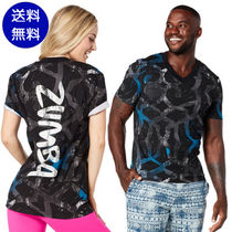 【送料無料】ズンバ Zumba Vibes V Neck★Royal Blue