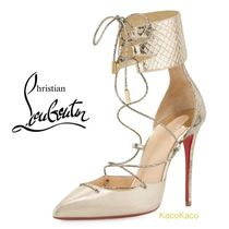 Christian Louboutin(クリスチャンルブタン) パンプス 2017SS 新作!ルブタン Corsankle レースアップパンプス
