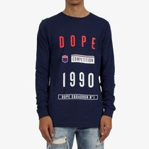 DOPE couture(ドープクチュール) Tシャツ・カットソー LA発☆DOPE couture☆Squadron L/S Tee送料込
