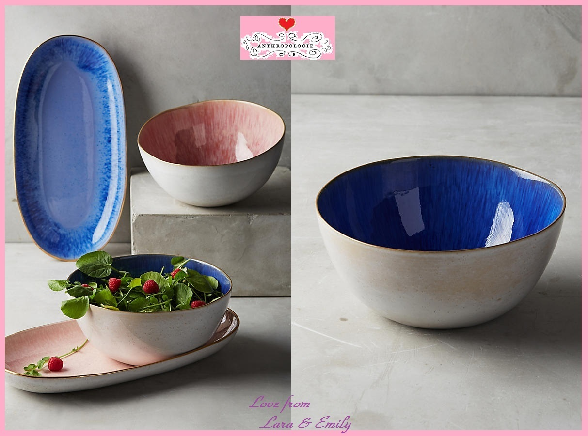17SS☆最安値&関税送料込【Anthro】Perasima Serving Bowl 1点