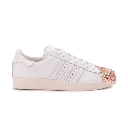 adidas スニーカー adidas★SUPERSTAR 80S W★METAL TOE 3D★メタル・グリッター白(5)