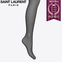 SAINT LAURENT 17SS┃SHEER BLACK YSL TIGHTS