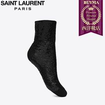SAINT LAURENT 17SS┃BLACK SEQUINS SOCKS