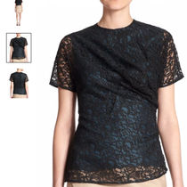 CARVEN(カルヴェン) Tシャツ・カットソー Carven Draped Lace Top トップス 限定セール