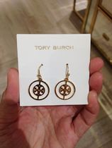 大人気★Tory Burch★DECO LOGO DROP EARRING ピアス*GOLD