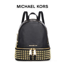 [MICHAEL KORS]  RHEA 30S5GEZB5L SMALL STUDDED バックパック