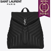 SAINT LAURENT 17SS┃MEDIUM MONOGRAM BACKPACK