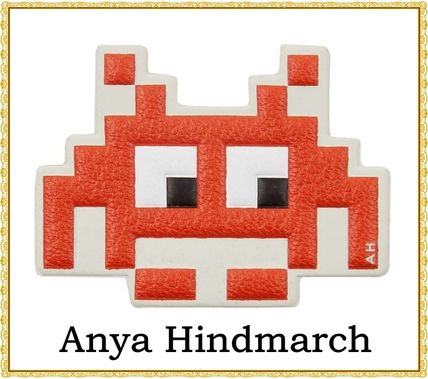 Anya Hindmarch space invaders leather sticker