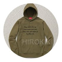 Supreme(シュプリーム) パーカー 【16AW】S-XL★Supreme They Fuck You Up Hooded Sweatshirt 緑