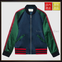 GUCCI(グッチ) ブルゾン 【グッチ】Silk Bomber With ブルゾン