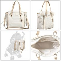 Mayoral(マヨラル) マザーズバッグ 【Mayoral】Quilted Baby Bag*マザーズバッグ*アイボリー