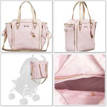 Mayoral(マヨラル) マザーズバッグ 【Mayoral】Quilted Baby Bag*マザーズバッグ*ピンク