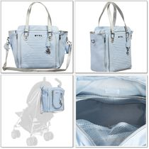 Mayoral(マヨラル) マザーズバッグ 【Mayoral】Quilted Baby Bag*マザーズバッグ*ブルー