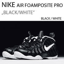 NIKE AIR FOAMPOSITE PRO BLACK/WHITE ポジット プロ ブラック