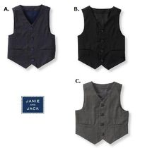 JANIE AND JACK(ジャニーアンドジャック) ベビーウェア・ロンパース Janie and Jack ☆Boys 3ヵ月-12歳☆カッコ良く Wool Suit Vest