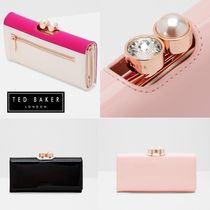 TED BAKER(テッドベイカー ) 長財布 パールが可愛い!!全3色♪長財布◆TED BAKER◆CECILIE Purse