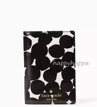 【kate spade】タラレバ娘同柄☆blot dot passport holder
