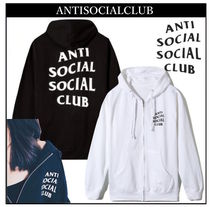 送料無料! ANTI SOCIAL SOCIAL CLUB LOGO ZIP UP パーカー