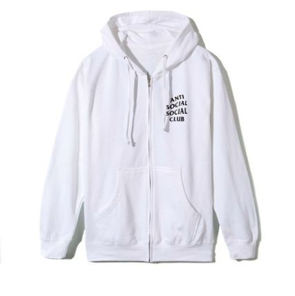 ANTI SOCIAL SOCIAL CLUB パーカー・フーディ 送料無料! ANTI SOCIAL SOCIAL CLUB LOGO ZIP UP パーカー   (7)