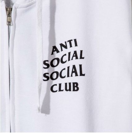 ANTI SOCIAL SOCIAL CLUB パーカー・フーディ 送料無料! ANTI SOCIAL SOCIAL CLUB LOGO ZIP UP パーカー   (9)