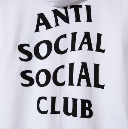 ANTI SOCIAL SOCIAL CLUB パーカー・フーディ 送料無料! ANTI SOCIAL SOCIAL CLUB LOGO ZIP UP パーカー   (10)