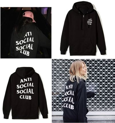 ANTI SOCIAL SOCIAL CLUB パーカー・フーディ 送料無料! ANTI SOCIAL SOCIAL CLUB LOGO ZIP UP パーカー   (2)
