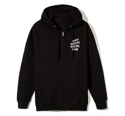 ANTI SOCIAL SOCIAL CLUB パーカー・フーディ 送料無料! ANTI SOCIAL SOCIAL CLUB LOGO ZIP UP パーカー   (3)