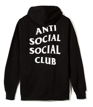 ANTI SOCIAL SOCIAL CLUB パーカー・フーディ 送料無料! ANTI SOCIAL SOCIAL CLUB LOGO ZIP UP パーカー   (4)