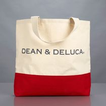 【DEAN&DELUCA】マルチ★トートバッグ Red Color Block Tote