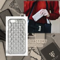 THE CASE FACTORY★IPHONE 7 QUILTED METALLIC SILVER