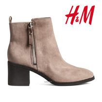 ●H&M●冬新作♪ブーツ♪Ankleboots♪タープ