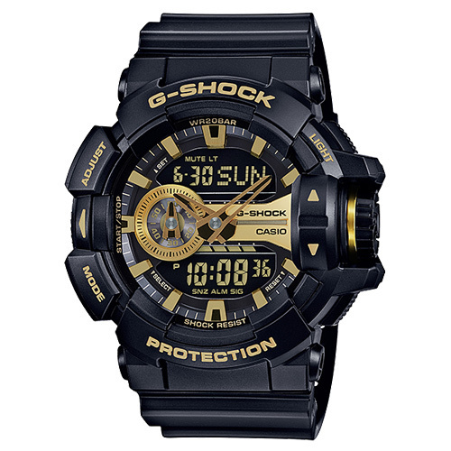 ★逆輸入!★CASIO G-SHOCK BIG CASE ANA-DIGI GA400GB-1A9