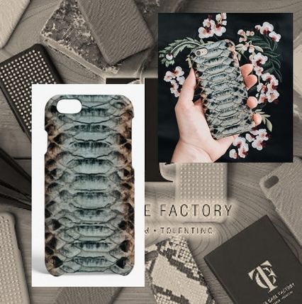 THE CASE FACTORY スマホケース・テックアクセサリー THE CASE FACTORY★IPHONE 7 COBRA MULTICOLOR