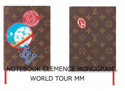 【ルイヴィトン】NOTEBOOK CLEMENCE MONOGRAM WORLD TOUR MM