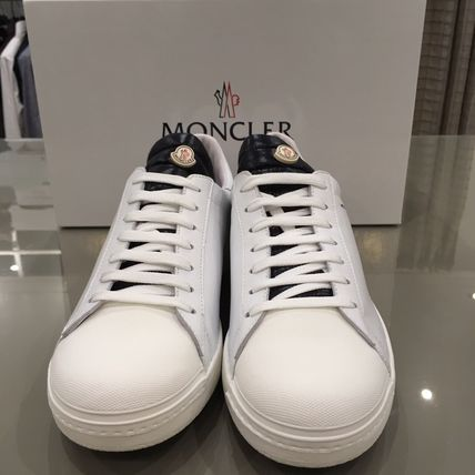 """2017 spring/summer """"MONCLER"""" JOACHIM leather sneakers"""
