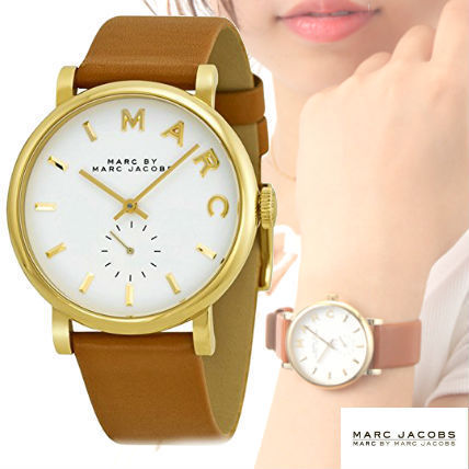 Marc by Marc Jacobs watches brown white b1316