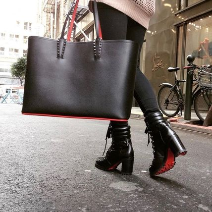 Christian Louboutin Cabata Tote Bag with a mini Pouch