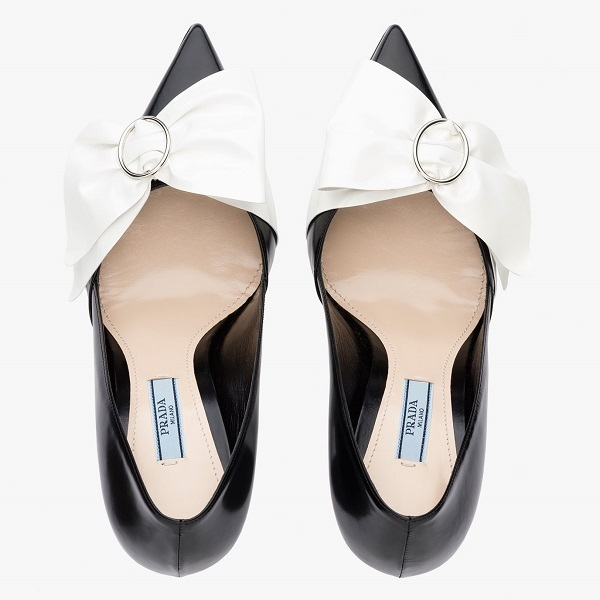 ☆17SS☆ PRADA pointy toe pump