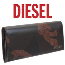 DIESEL 長財布 CAMOU DRILL X04368-P1223 24 A DAY-H5254