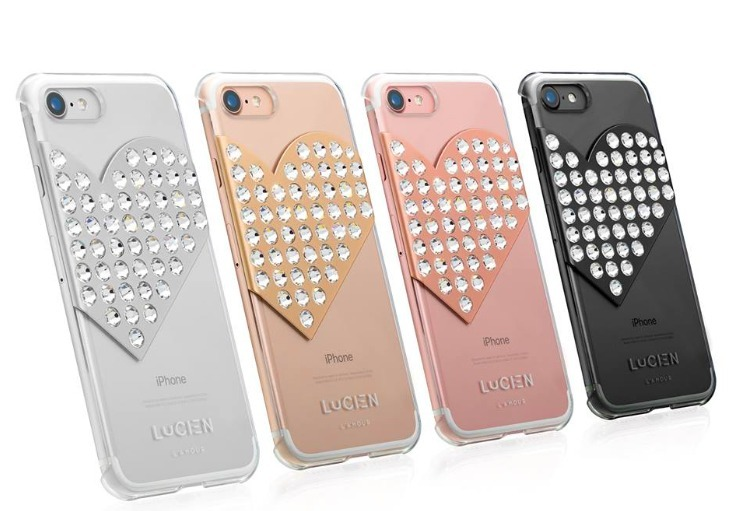 LUXレア★iPhonePlus 7PLUSケース★LUCIEN [L'AMOUR]4色展開