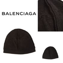 *関送込* BALENCIAGA Destroyed beanie hat