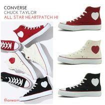 ★converse★CHUCK TAYLORALL STAR HEARTPATCH HI ハートパッチ