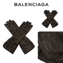 *関送込* BALENCIAGA Long soft leather gloves