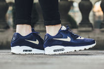 "★UNISEX★[NIKE]WMNS AIR MAX 90 ""Binary Blue""【送料込】"
