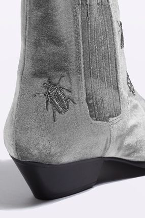 TOPSHOP ショートブーツ・ブーティ 《オシャレ!虫の刺繍♪》☆TOPSHOP☆ANTS Bug Embroidery Boots(3)