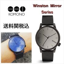 送料関税込・国内発送☆Komono☆Winston Mirror Black Black41mm