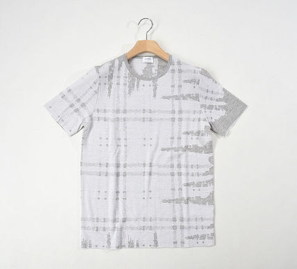JIL SANDER, Jil Sander and knit T shirt lattice / wool 100%