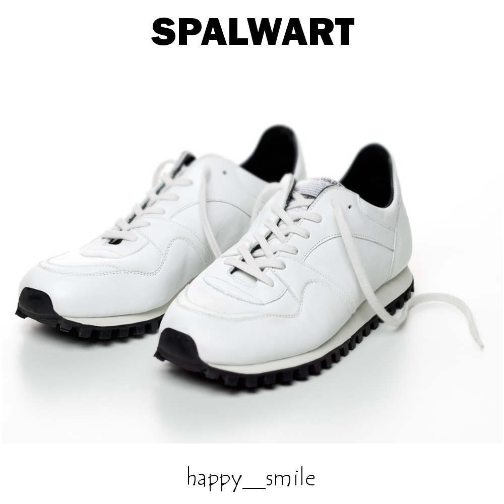 §SPALWART§ 国内発送 Marathon Trail Low Nappa - White